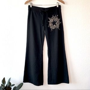 Twisted Heart Swarovski Star Embellish Track Pant